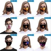 DHL-Versand 3D-gedruckter Designer Halloween-Party-Masken Kostüm Cosplay Unisex Erwachsene Kinder Anime Scherzmasken 40 Arten Facemasks FY9184