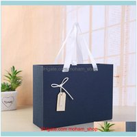 Wrap Event Festive Party Supplies Home & Gardenblue Scarf Clothes Jacket Gift Backpack Packaging Box Wedding Christmas Der Paper Packing Sto