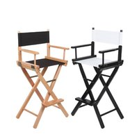 Ersatz-Leinwand-Direktoren Stühle Cover Hocker Protector Stühle Leinwandabdeckungen Simple Solid Seat Covers Set Outdoor Garden