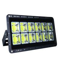 Luz de inundación LED de COB 200W 300W 400W 500W 600W 600W Reflector al aire libre impermeable Lámpara al aire libre Lámpara de calle de la pared AC85-265V