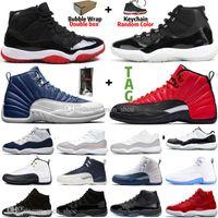 11 11s 25 aniversario BRED Concord 45 Space Jam Men Baloncesto Zapatos de baloncesto 12 12S Game Indigo Royal Wirs Flu Game Mens Mujeres Deportes Zapatillas deportivas
