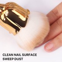 Nail Art Kits Rose Dust Brush For Manicure Beauty Blush Powder Brushes Fashion Gel Accessories Material Tools