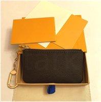Portafoglio Key Pouch M62650 Pochette Cles Designer Fashion Womens Men Anello Porta carte di credito Portabicchieri Portabicchieri Mini portafogli Borsa Charm Pochette Accessori