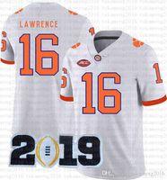 Mens Trevor Lavrence Travis Ethienne Jr. Clemson Tigers NCAA American Football Jersey Nick Bosa Dwayne Haskins JR Whise S-XXXL TOM BRADY QXES