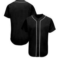 Toptan Yeni Stil Adam Beyzbol Formaları Spor Gömlek Ucuz Kaliteli 013