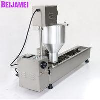 Freidora de bola de bola de beijamei de beijamei Máquina de fabricación de mini donut / máquinas automáticas de 3000W para hacer donas