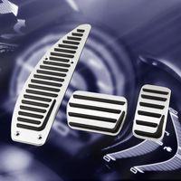Capa do Pedal do Pedal do Acelerador de Pedal do Pedal do carro para VOLVO V40 S40 C30 Auto Aluminum Liga Carros Carros Acessórios