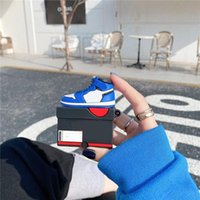 멋진 크리 에이 티브 하이 탑 신발 Apple Airpods Pro 블루투스 무선 헤드셋 보호용 이어폰 케이스 1/2/3 세대 적용 가능 2 색