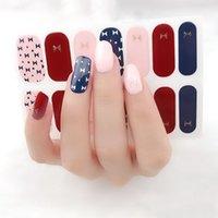 Adesivi per unghie a copertura completa Involucri Adesivi per le unghie per nail art DECALCONI DIY Adesivi autoadesivi autoadesivi per le donne ragazze