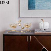 Candle Holders Romantic Candlesticks Gold Bird Luxury Votive Tealight Wedding Decoration Table Centerpiece Candelabra Decoracion
