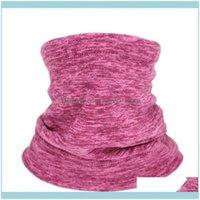 ملابس جميلة رياضية كما outdoorautumautumnumn الخبز الشتاء المشي لمسافات طويلة وشاح قبعات في الرياضة الدافئة منديل الرقبة الصوف سميكة القبعات قطرة deliv