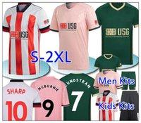 2021 Шеффилд Футбол Джетки Берж Балдок МакГолдрик Маус Mcburnie Lundstram Fluk Norwood Sharp Third Kits Kits Футбольная рубашка
