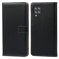 Business Genuine Leather Wallet Cases For Sony Xperia 5 III 10 II 1 L4 One Plus Nord N100 Oneplus N10 5G ID Credit Card PC Real True Flip Covers Holder Stand Men Black Pouch