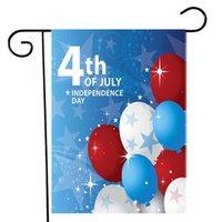4. Juli Gartenflagge Independence Day USA Amerikanische Patriotische Memorial Garten Flaggen für Wohnkultur 18 x 12,5 Zoll Zze5143