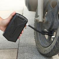 مضخة الهواء الكهربائية المحمولة الإطارات مصغرة نافخة compresor دراجة دراجة الدراجات دراجة نارية مع عرض الضغط