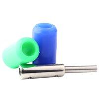1PC Porta riutilizzabile Autoclavabile Antiskid in gomma morbida in silicone tatuaggio in silicone per tatuaggio per tatuaggi macchina per la maniglia della mitragliatrice