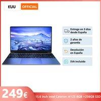 Laptops 15.6 Inch FHD Laptop Intel Celeron J4125 8GB DDR4 256GB SSD Windows 10 Notebook Gaming Computer Bluetooth WiFi Camera