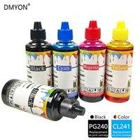 Dmyon 잉크 리필 키트 Canon PG240 CL241 Pixma MG2120 2220 3120 3122 3520 4220 4120 MX372 392 432 439 452 프린터