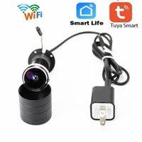 WIFI-Türauge-Kamera HD 1080p Fisheye-Kamera Mini-Peephole-Tür Wifi IP-Sicherheit TF-Kartensteckplatz Zwei-Wege-Stimme Intercom
