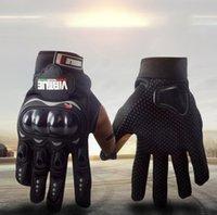 2021 Venta caliente Nuevo Motocicleta eléctrica Guantes Hombres y mujeres Four Seasons Anti-Fall Racing Gloves Verano Motocicleta Piders Anti-Skid GL