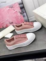 Le lastimest casual piccole scarpe bianche spugna torta a suola spessa a suola allacciatura traspirante all'interno autenticità di colore multiplo 35-40