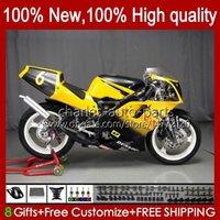 Moto Bodywork for Yamaha Tzr250 TZR 250 TZR-250 R RS RRR 1988 1989 1990 1991 Body 31NO.72 TZR250-R 노란색 검은 색 TZR250RR 88-91 YPVS 3mA TZR250R 88 89 90 91 OEM 페어링 키트