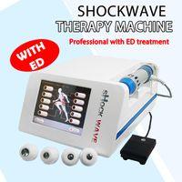 A estética portátil alivia o equipamento da onda da dor nas junta da dor com eletrônicos / extracorpórea da onda de choque radial para o tratamento Ed