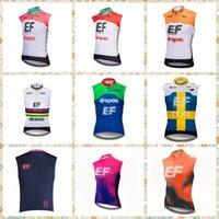 EF Education First Team Radfahren Sleeveless Jersey Weste Bike Kleidung Atmungsaktiv Fahrrad Kleider Tops Zyklus Berg Quick-Trockner 31523