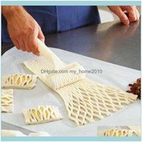 Bakeware Kitchen, Dining Bar Home Garden1Pc Plastic Baking Tool Pull Net Wheel Knife Pizza Pastry Lattice Roller Cutter For Dough Cookie Pie