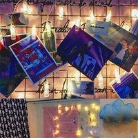 Lâmpada do clipe da foto Luzes do diodo emissor de luz do diodo emissor de luz 2M 3M 4m operado a luz de fada da festa da festa do casamento da festa de Natal