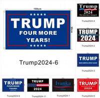 ABD stoğu! 90 * 150 cm Trump Bayrak 2024 Seçim Bayrağı Banner Donald Trump Amerika'yı Tutun Tekrar 5 Stiller Polyester Bayrak