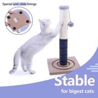 2021 Nova torre de árvore Pequeno Kitty Sisal Coat Rack Post Chew e Risk Platform PlayPost Home Cat Toy 727h