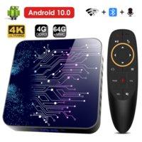 2020 Hongtop TP02 4GB 64GB 4K TV BOX Android 10 Smart Android TVBOX 10.0 Rockchip RK3318 Wifi 1080P 4K Set Top Box 4GB 64GB 32GB
