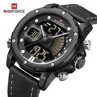 Наручные часы Naviforce Военные спортивные часы Мужские аналоговые цифровые кварцевые наручные часы светящиеся водонепроницаемые хронографские часы роскошные мужские часы