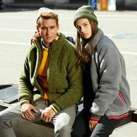 Fashion Winter Men's Sweater Coat Faux Fur Wool Sweater Jackets Outdoor Skiing