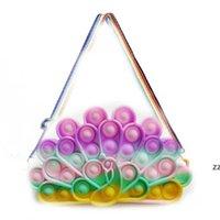 Didget Toys Pheck Crossbody сумка павлин лук сумки пресс пузырь сумка монеты кошелек кошелек мешок сумка декомпрессия игрушка hwb10850