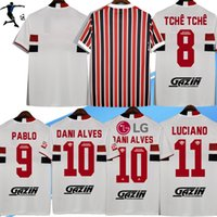 S-3XL 2021 SAO Paulo Futbol Forması Dani Alves 2022 Ev Uzakta Kadın Luciano Gomes Luan Pablo Reinaldo Camisa 21/22 Oyuncu Sürüm Kaleci Eğitim Futbol Üniforması
