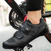 Calçados Calçados Calçados Fibra De Carbono Sapatos MTB Sneakers Homens Mulheres Ao Ar Livre estrada Bicicleta Wearable Ultraleight Bicycle Racing Spin