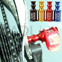 أضواء الدراجة muqzi mtb دراجة موسع منارة الدراجات سريعة الإصدار الجبهة عجلة مصباح حامل سبيكة الخلفية derailleur حماية lampholder1