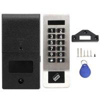 Smart Lock Cocker Digital Clavier numérique électronique CodeT Mot de sécurité Porte de passe pour sauna Safe