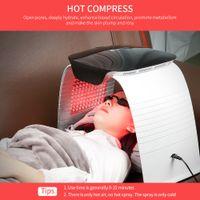 Photodynamic PDT LED Red Light Therapy Skin Rewizencji Piękno Maszyna do twarzy z twarzy Hot and Cold Nano Spray