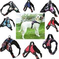 Grande cascata del cane dell animale domestico Tutto il servizio meteorologica del cane del nylon del nylon Gilet imbottita di sicurezza regolabile di sicurezza per i cani Cat Pet Spedizione gratuita
