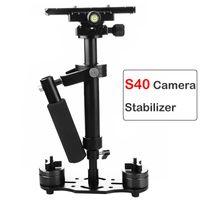 Умный домашний контроль S40 ручка стабилизатор 40см сосредотачись видео алюминиевый сплав ручной съемки PupplyCam Steadicam DSLR видеокамера