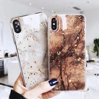 Casos de telefone coque iphone 11 12 pro máximo mini 7 8 mais x r xs max estojo de luxo bling ouro folha de ouro glitter macio tpu capa