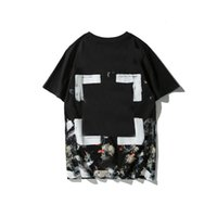 OFF T-shirt Starry Sky Fireworks de manga corta Marca de moda de verano Pareja Hombres y mujeres Camiseta de algodón puro Cowboy688