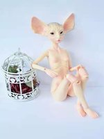 AQK a boneca Sphynx Cat Quarterback Plantas Ear DJD / 1/4 Eye Free L0308