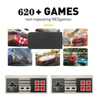 Portable Game Players Video Console Double Wireless Controller TV Built-in 620 Retro Stick AV 720P