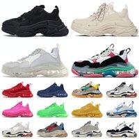 Scarpe firmate più nuovo fondo di cristallo più nuovo Balencaiga 17w triplo s donne mens scarpe casual scarpe da papà papà piattaforma formatori sneaker designer sneakers piatto sporco