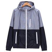 WOQN Ceketler Kadın Bahar Yeni Moda Ceket Bayan Ceket Kapşonlu Temel Ceket Rahat Ince Rüzgarlık Kadın Dış Giyim JK106