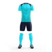 039 Top Quality Soccer Jerseys Breathable Football Sets Moisture Wicking For Men + Kids Customize Name and Num Shirt